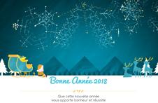 carte de voeux 2020 Catalogue Ecard 2020 Entreprise   Carte voeux électronique (animée)